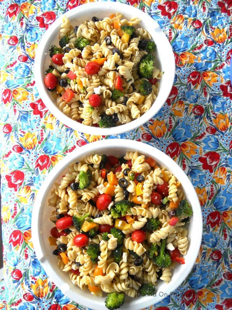 Party Pasta Salad Donna Amis Davis